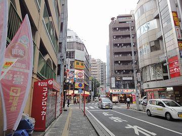 『松戸駅』を出て、歩き始めたところ