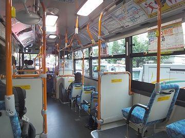 座席を、左側に移りました