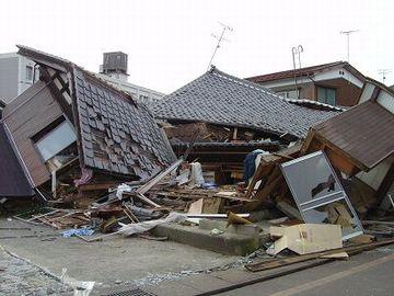 10.23。新潟県中越地震。