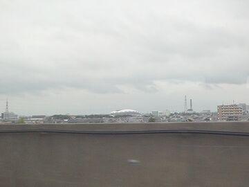 新潟駅が近づいて来ました