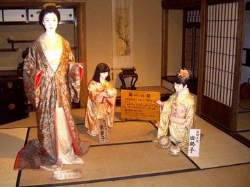 武家屋敷の人形