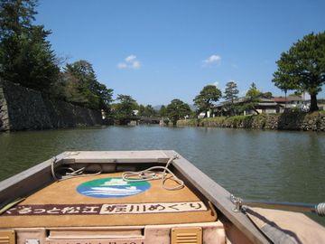 「堀川めぐり」船上