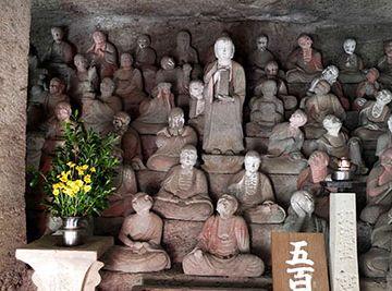 石見銀山(島根県大田市)の『羅漢寺』にある五百羅漢