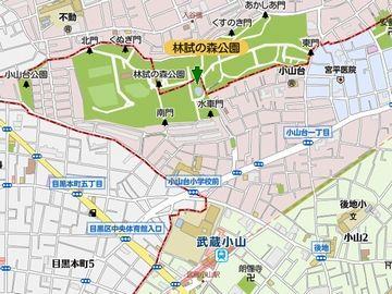 最寄り駅は、東急目黒線の武蔵小山