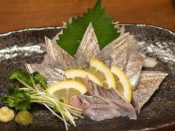 太刀魚の炙り刺身