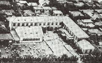 中野町桃園時代の校舎