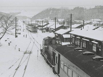1985年の『鰺ヶ沢駅』
