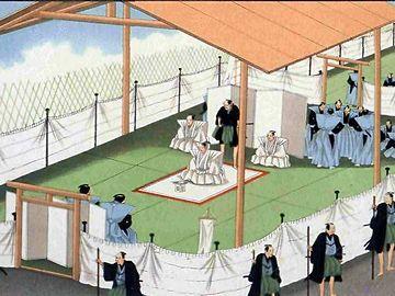 江戸時代末期の切腹の様子