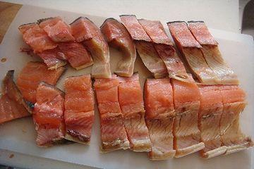 塩鱒。美味しいよ!
