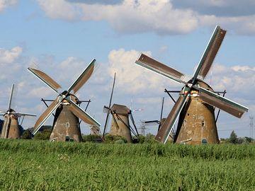 オランダと云えば風車