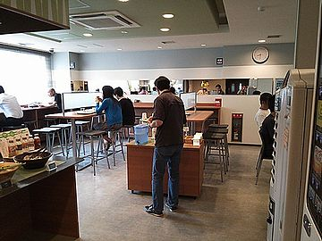 『スーパーホテル東京・亀戸』の朝食会場