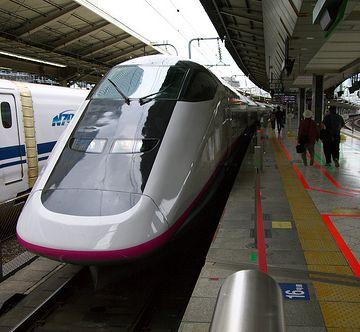 朝一番の新幹線は、東京発6:40分の『こまち115号』