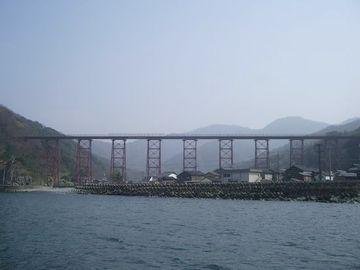 冬場、鉄橋には、容赦なく潮風が吹き付けます