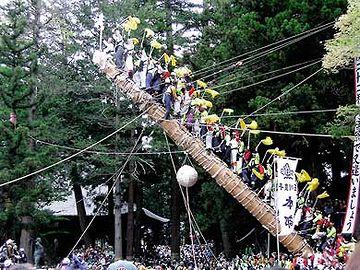 『諏訪大社』御柱祭