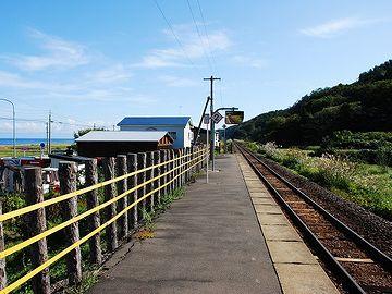 『陸奥柳田駅』です