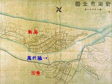 大正三年新潟市全図
