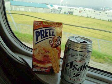こういう景色でビールを呑んだら、確かに美味しいでしょうな」