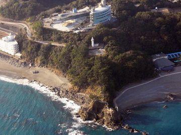 桂浜荘の立地