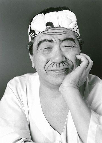バカボンのパパに分した赤塚氏