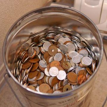 細かい小銭を用意