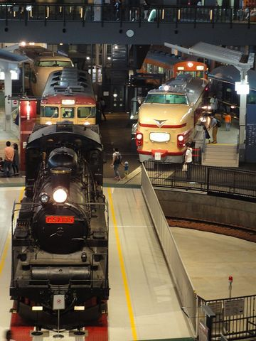 大宮の『鉄道博物館』を見学しました