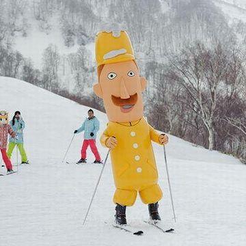 新潟県民は全員、スキーが滑れると思ってました