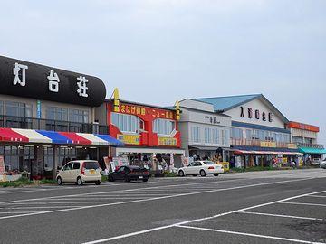 入道崎の駐車場