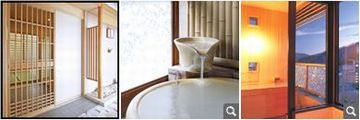 客室露天風呂