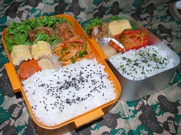 お腹が空くんだから、容量のある弁当箱を使いたい