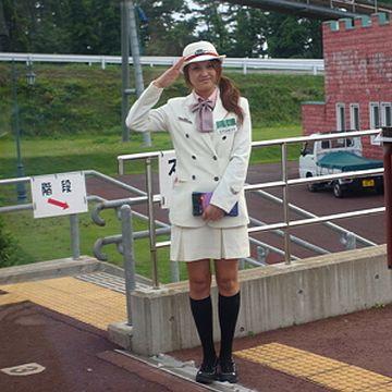 『ウェスパ椿山駅』の観光駅長さんは、切符は売りません