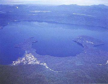 その噴火で十和田湖が出来た?