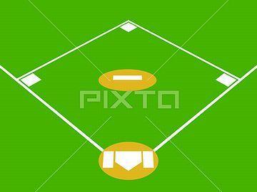 これらのベースは、正四角形の四隅に置かれています