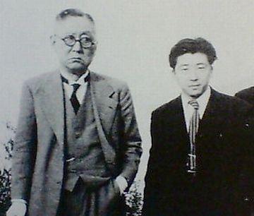 左:内田百閒/右:平山三郎