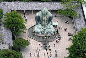 鎌倉の大仏さま。高さは、11.39メートル。鎌倉市の津波想定は14.5メートル。大仏さまは、完全に水没します。