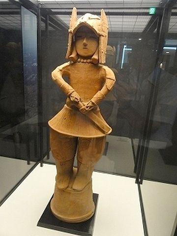埴輪の武人像
