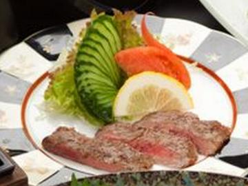 桂浜荘・料理の肉