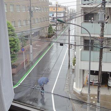 ホテルの窓から撮った写真