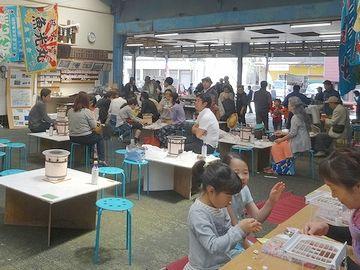 熱海魚市場『浜焼きコーナー』
