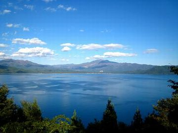 日本一深い湖・田沢湖