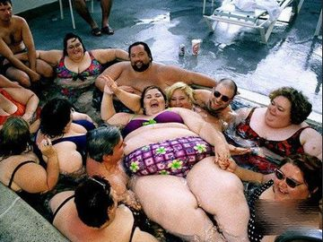 太ってることを苦にしない人たち