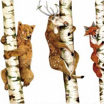 シカは木に登らないと思います