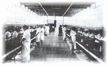本社の中神工場だけで従業員500人