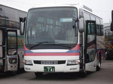 秋田中央交通・小型バス