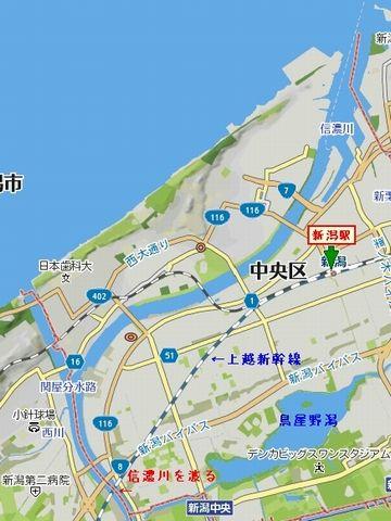 日本一の大河のわりに川幅は広くない