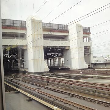 大宮駅に入ります