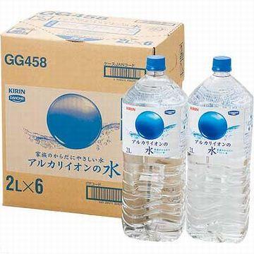 アルカリイオン水のペットボトル