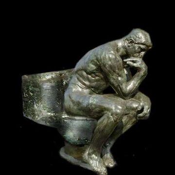 わたしが風呂に入ってる間に、うんこをしようという魂胆だな