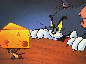 『トムとジェリー』。大好きなアニメでした。
