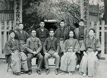 開校(1883年)ころの新潟商業