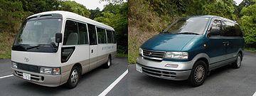 国民宿舎椰子の送迎車